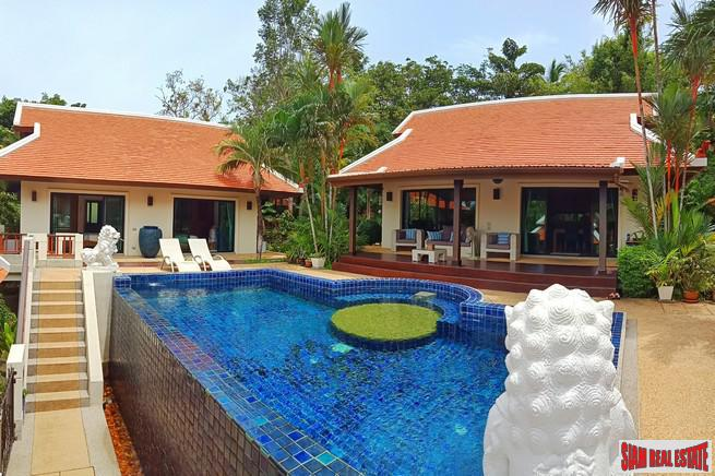 Luxurious Three Bedroom Pool Villa For Rent in an Exclusive Nai Harn Estate