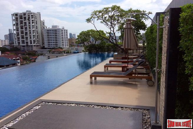Pool and Garden Views from Three Bedroom Top Floor Condo on Sukhumvit 8