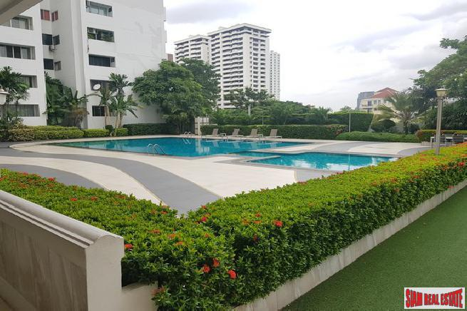 Pool and Garden Views from this Three Bedroom Condo on Sukhumvit 39