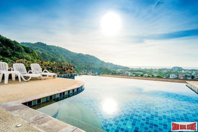 Bright One Bedroom Condo with Big Buddha Views in Kata, Phuket