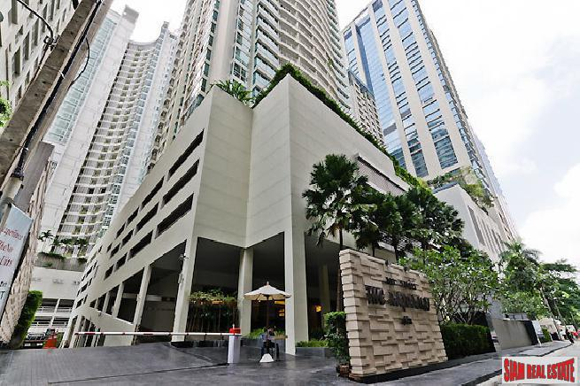 2 Bed Condo at Ratchadamri, One of the Finset Locations in Bangkok