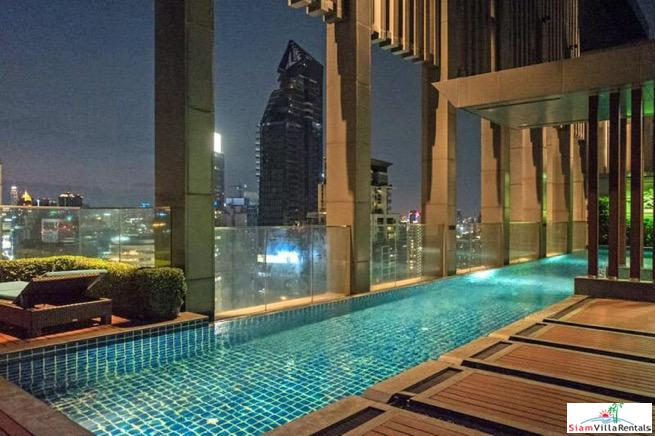 Fantastic City Views from this Two Bedroom Condo for rent on Sukhumvit 28