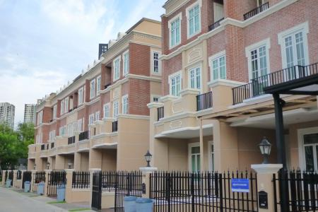 Elegant Partly Furnished Townhome at Garden Square by Sansiri in a Luxury Closed Compound, Kensington Style