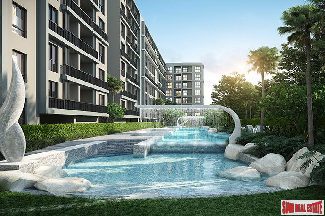 Luxurious New Condominium by Major Developer in Modern Coastal Style at Central Hua Hin - 2 Bed Units