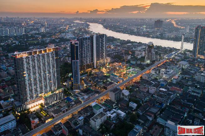 New Completed High Rise Modern Condo at Tao Poon, Bang Sue - Two Bed Units