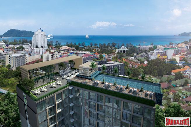 New Deluxe Sea View One Bedroom Condos with Rooftop Swimming Pool