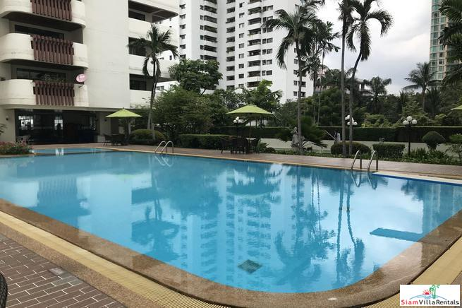 City Views from this Three Bedroom with a 180 Degree Balcony on Sukhumvit 23