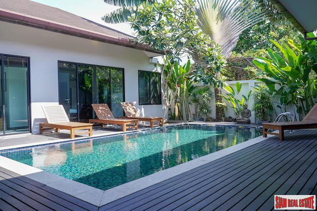Private and Quiet Three Bedroom Court Yard Pool Villa in Layan