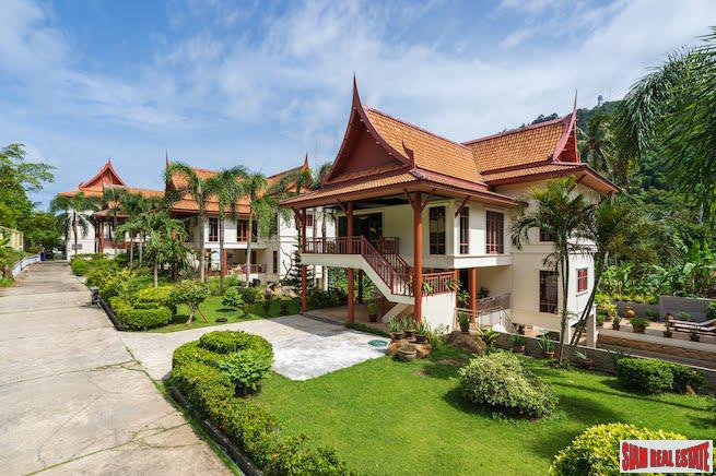 Private Three Storey Contemporary Thai Style Pool Villa in Kata, Phuket