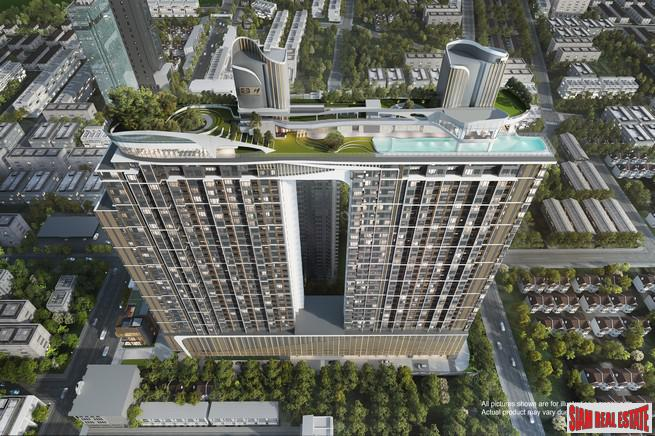 Exciting New Off-Plan Ikigai Designed Condo at Ekkamai with Double Roof Space and Top of the Line Facilities