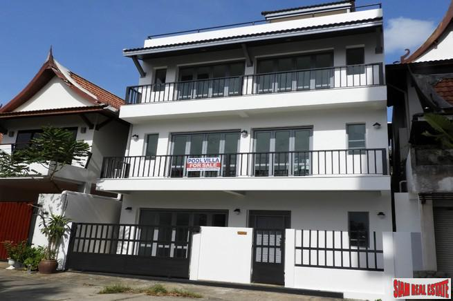 Beautiful and Peaceful Three Storey House with Pool in Kata, Phuket
