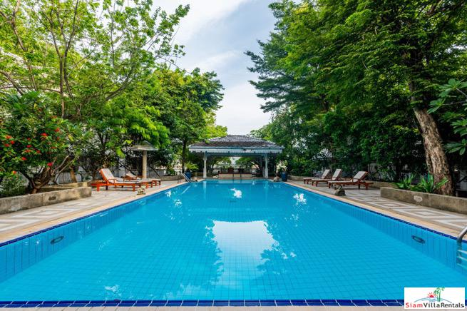 Elegant Three Bedroom Condo Near Chao Phraya River in the Dusit Area of Bangkok