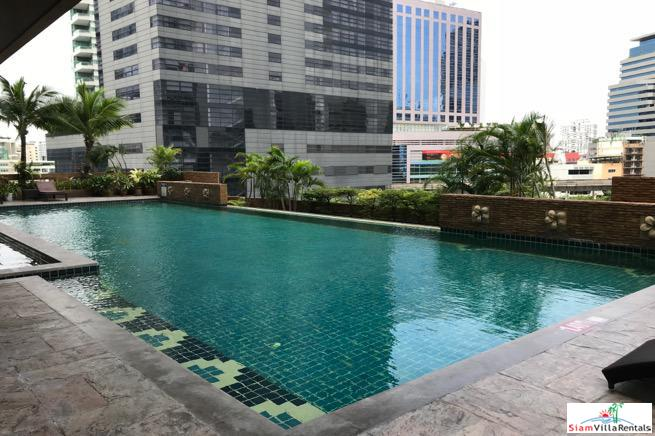 Large Corner Three Bedroom Condo for Rent on Sukhumvit 22