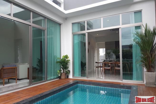 Quiet and Contemporary Three Bedroom Homes in a New Hang Dong Development