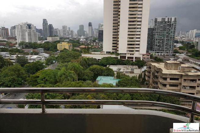 Sweeping City and Pool Views from this Four Bedroom  in Ekkamai