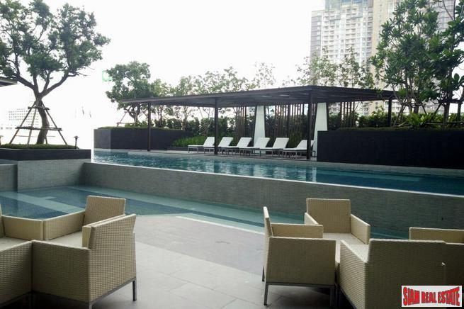 Expansive City Views from this Modern Three Bedroom Condo in Phetchaburi