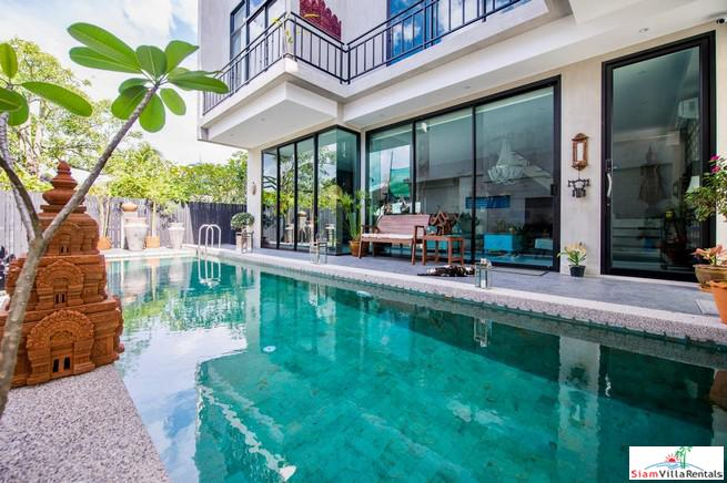 Professionally Interior Designed Loft Style Villa with Private Pool in Cherng Talay