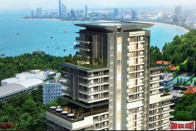 A beautiful condo with great Seaview on Phratamnak hill