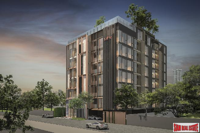 Pre-Launch Sales of Trendy New Low-Rise Two Bed Condos in the Popular area of Ari, near BTS Ari