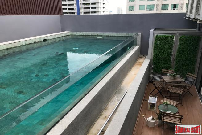 Unique 3 Bed Penthouse Luxury Condo with Private Pool and Terrace in a Low-Rise Condo at Asoke