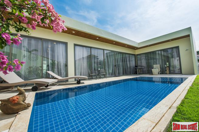New Luxurious Modern Three Bedroom Pool Villas only 500 Meters to Rawai Beach