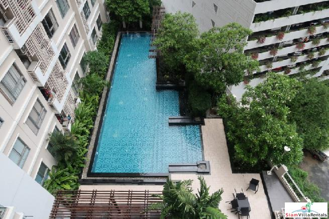 One Bed Condo for Rent with Pool Views at Phrom Phong, Sukhumvit 26