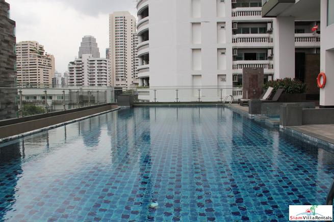 One Bedroom Serviced Apartment Near Two Parks and BTS Asok