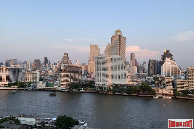 Large 2 Bed Corner Unit on the 59th Floor of The River Condominium, Bangkok