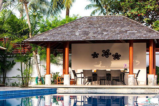 Absolute Beachfront in this 5+ Bedroom Holiday Pool Villa in Lipa Noi