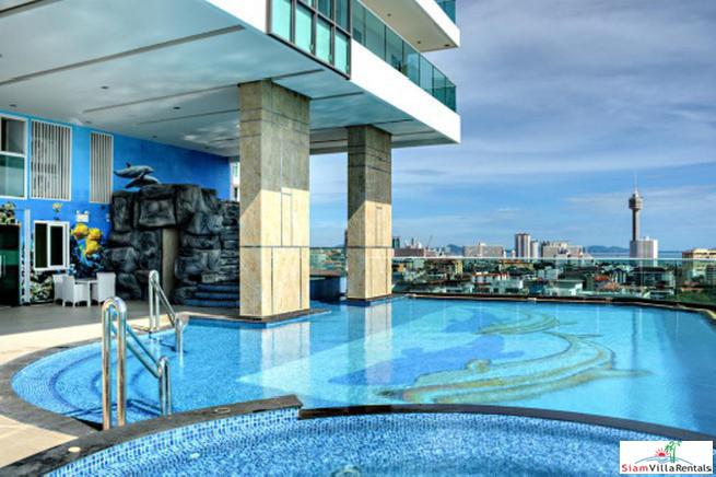 uxurious Large 2 Bed Condo for Rent On Pratumnak Hills Pattaya Very near Cosy Beach