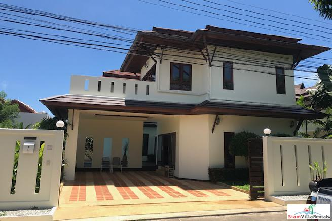 New Three Bedroom House with Private Pool in Desirable Chalong Estate