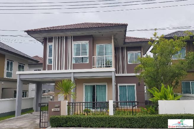 Contemporary Three Bedroom Family House in New Security Estate, Koh Kaew