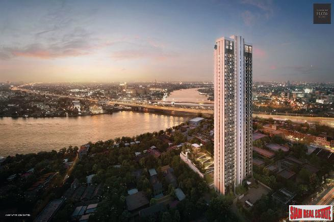 Pre-Sale Launch of High-Rise Residential Two Bed Condos on the Banks of The Chao Phraya River