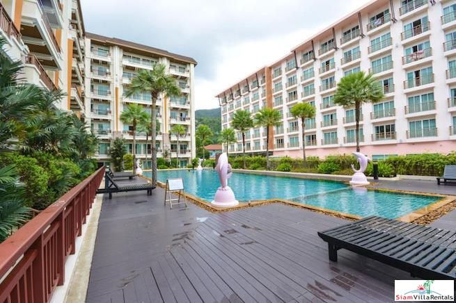 Furnished Two Bedroom with Pool View Just Minutes from World Famous Patong Beach