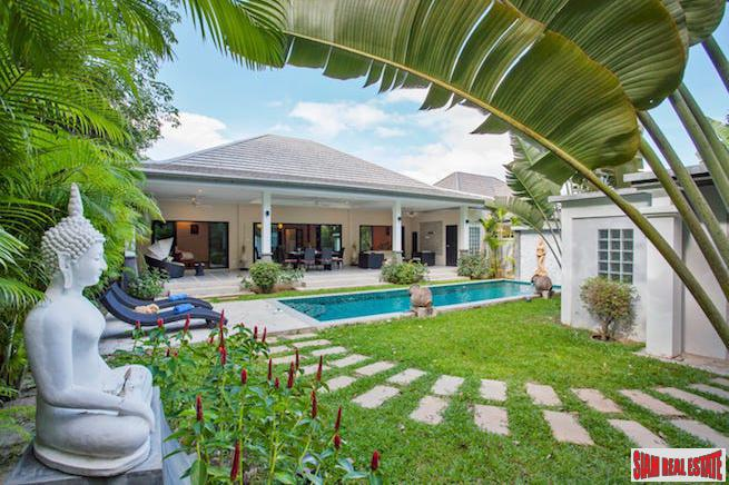 Colorful Three Bedroom Pool Villa with Private Yard in Rawai