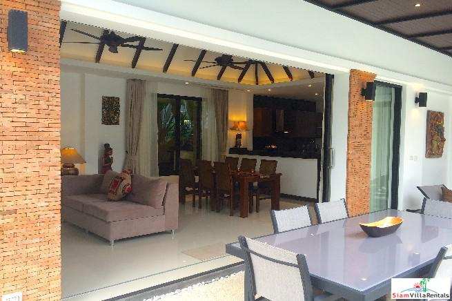 Tropical Two Bedroom Villa with 16