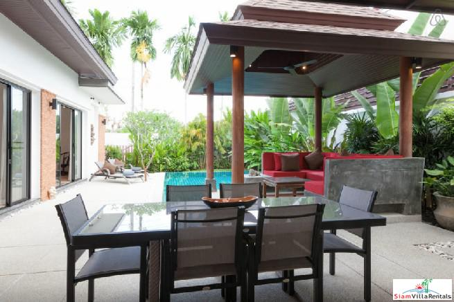 Tropical Two Bedroom Villa with 4