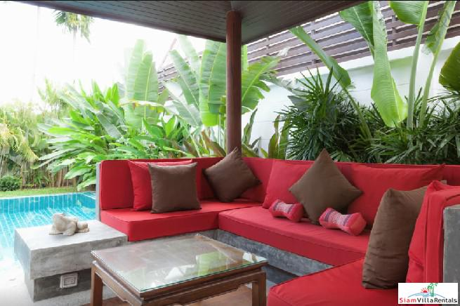 Tropical Two Bedroom Villa with 6