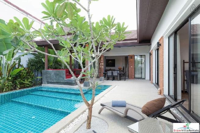 Tropical Two Bedroom Villa with 7