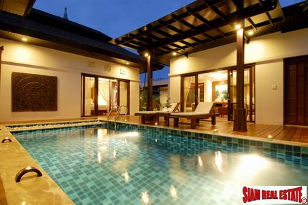 Stunning pool villa for holiday rental