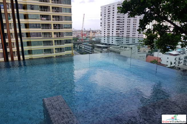 THE LINE Ratchathewi | Modern Two Bedroom Condo for Rent on the 29th Floor and Only Five Minutes to BTS Ratchathewii
