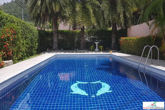 Conveniently Located Two Bedroom House with Communal Swimming Pool in Chalong