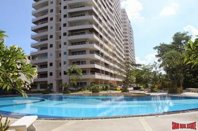 Beachfront Two Bedroom Condo with Wrap Around Corner Balcony in Pratumnak Hill