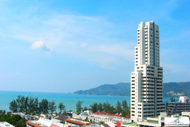 Two Bedroom Condo with Mountain Views in the Heart of Patong