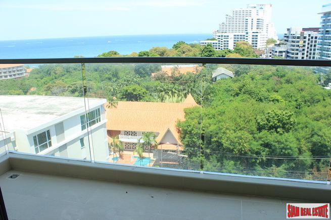 Spacious One Bedroom with Sea View Minutes from the Beach in Jomtien
