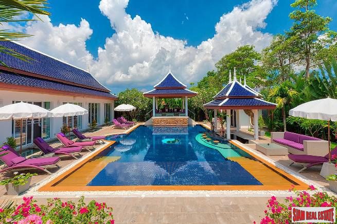 Breathtaking Eight Bedroom Private Pool Villa in the Heart of Bang Tao
