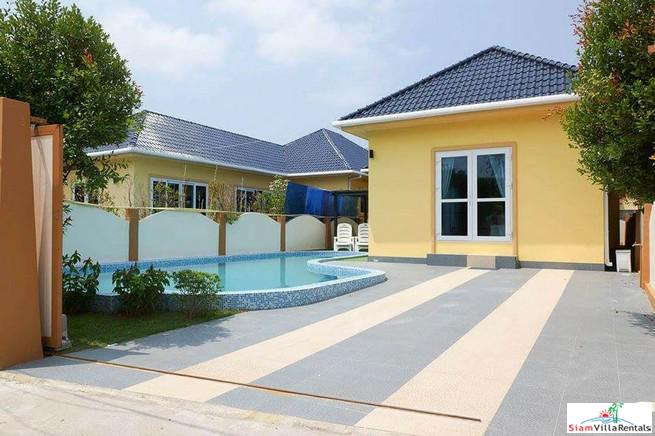 Single Storey Three Bedroom with Extra Large Pool in Rawai