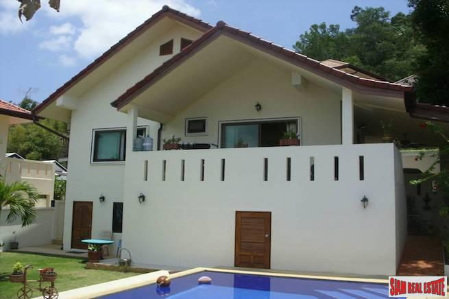 Three Bedroom with Private Pool and Lush Tropical Gardens in Kathu