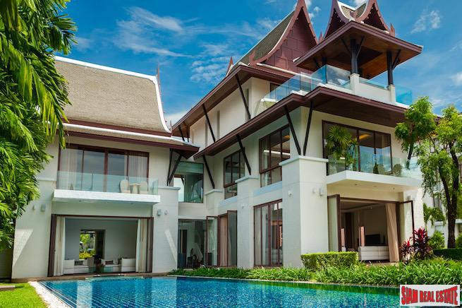 Luxurious Five Bedroom Villa at the Royal Phuket Marina