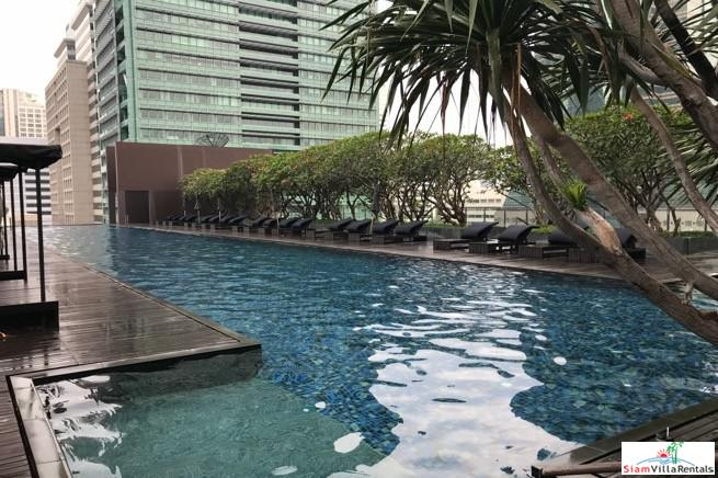 Furnished Modern Two Bedroom Condo within Walking Distance to BTS Chong Nonsi